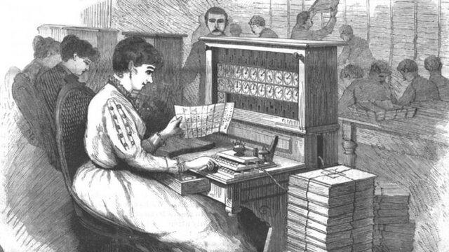 Máquina Tabuladora de Hollerith