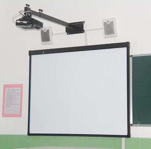 Entrada de la pizarra digital interactiva a las aulas