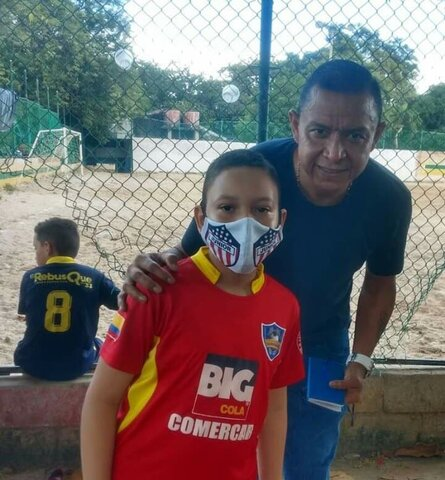 Con  el Crack Ivan  Rene Valenciano