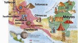 las culturas en México  timeline