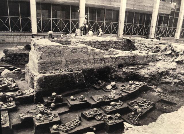 Tlatelolco y sus entierros