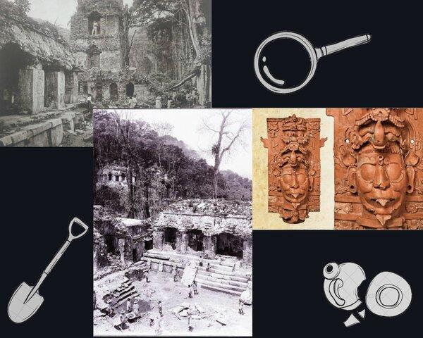 Descubrimiento de Palenque
