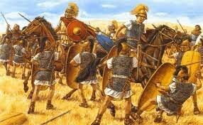 Julio César Derrota a Pompeyo