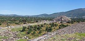 Auge de las ciudades de Teotihuacán y Monte Alban