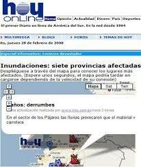 Primer país de Latinoamérica con contenido a la Red