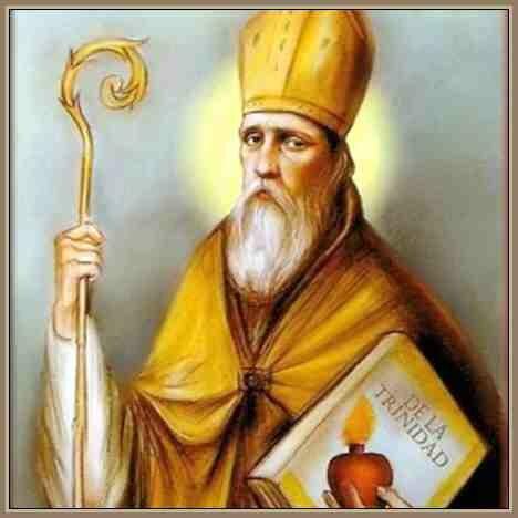 San Agustín fue consagrado como obispo de Hipona.