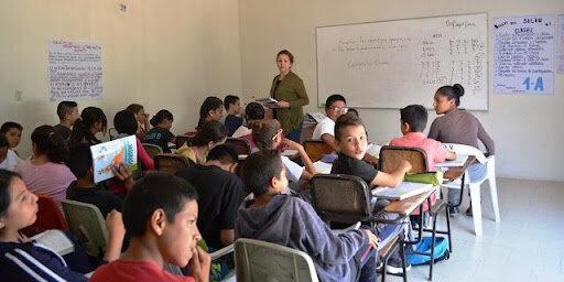 La Telesecundaria había iniciado sus funciones con poco más de 6,000 jóvenes matriculados