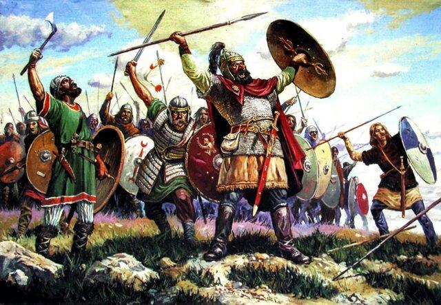 Los bárbaros buscan instalarse en regiones más prosperas de imperio.
