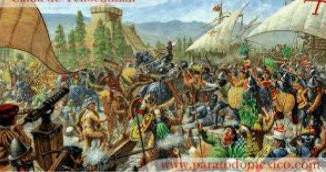 Caída de Tenochtitlán