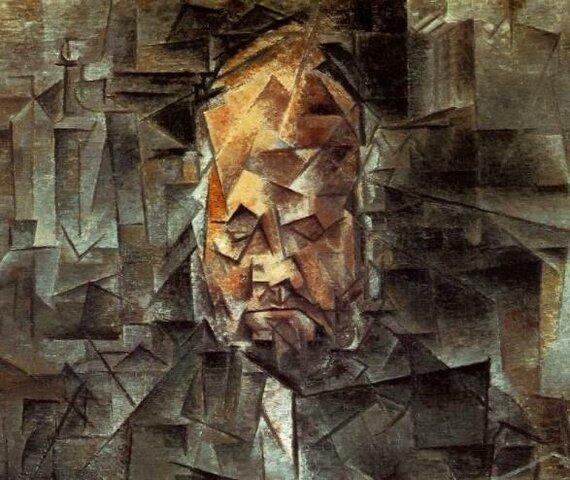 Picasso inicia un nou estil pictòric, el cubisme.