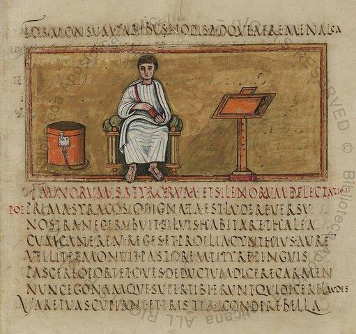 Los niños cristianos aun aprenden la escritura escribiendo nombres mitológicos