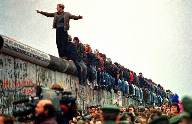Caiguda del mur de Berlín.