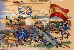 Inici de la guerra de la independència a Espanya.