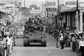 Triomf de la Revolució Cubana amb Fidel Castro.