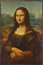 Leonardo da Vinci pinta la  Mona Lisa