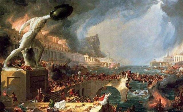 caída do imperio romano