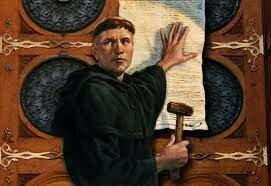 Martí Luter inicia la reforma luterana