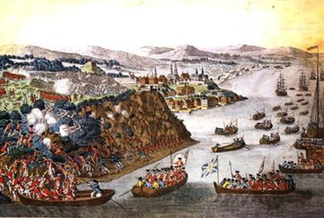 Battle on the Plains of Abraham (Quebec)