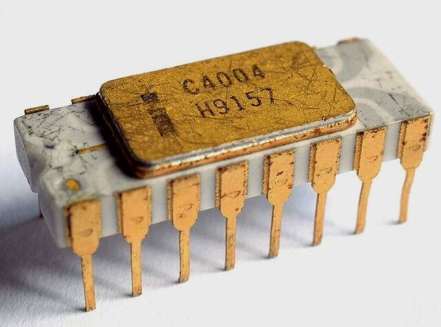 Tercera generación. Chip ordenador