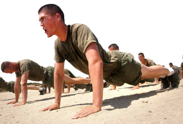 Started training to become a Navy SEAL at the age of 15