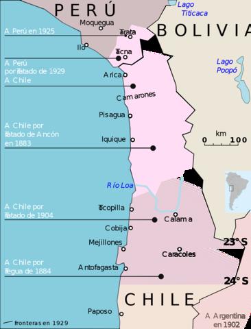 Tregua entre Bolivia y Chile