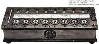 """Pascal inventa la """"Pascalina"""""""