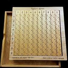 >John Napier crea un sistema para realizar  operaciones aritméticas