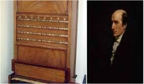 Charles Mahone inventa la primera máquina  lógica, el demostrador lógico.