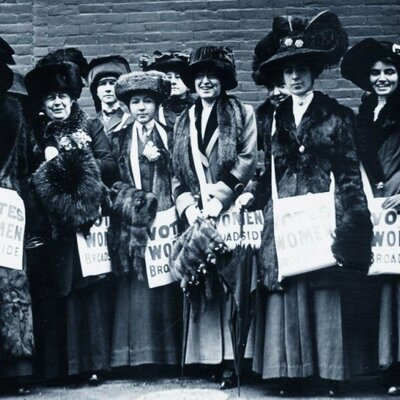 1- GH THE SUFFAGETTES: A HISTORY OF THE STRUGGLE FOR THE WOMEN'S VOTE RIGHT timeline