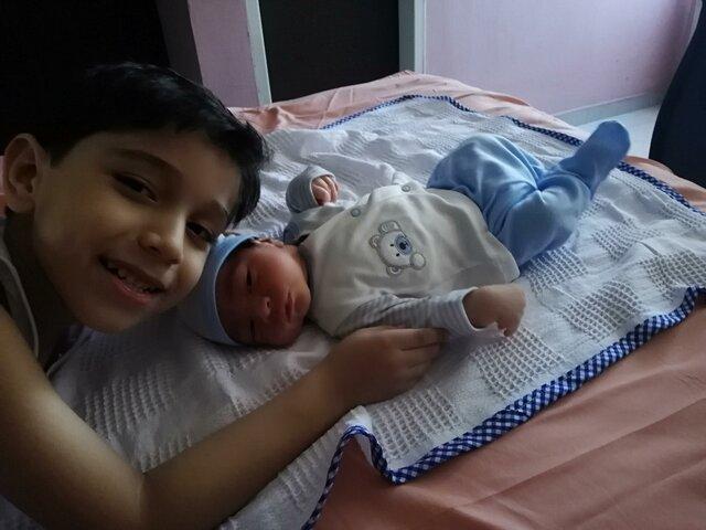 Nacimiento de mi hermanito
