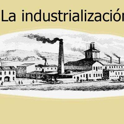 Historia de la industrialización (DANIEL EDUARDO ROSALES 2245189) timeline