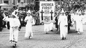 Rise of KKK (early 20 century)