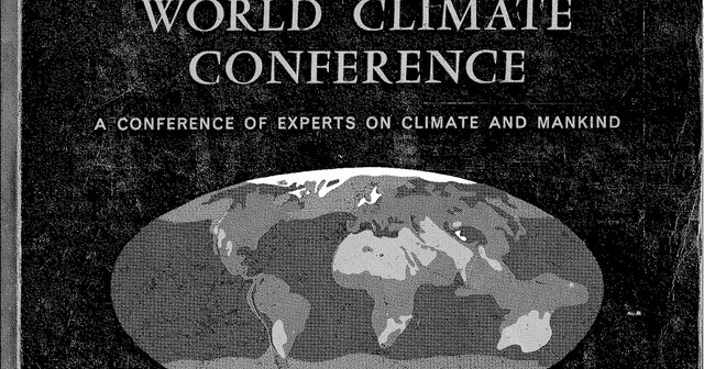 First World Climate Conference