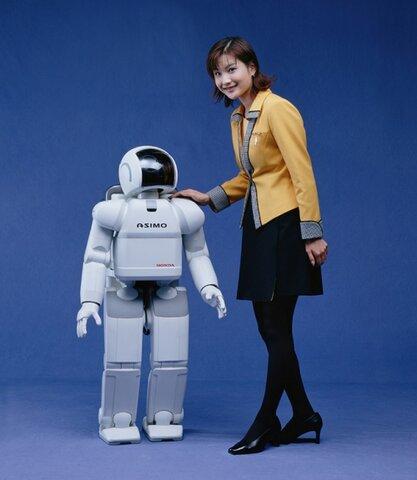 Lanzamiento del robot asimo