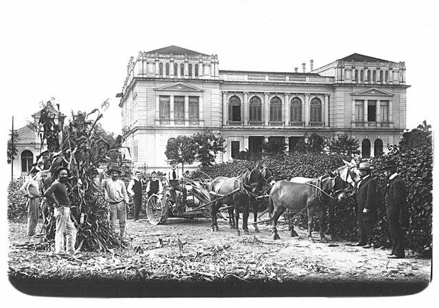 Criação do Instituto de Química (RJ) e da Escola Politécnica (SP)