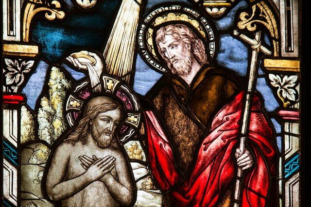 Agustín es bautizado en el cristianismo