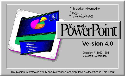 POWER POINT 4.0.-Febrero de 1994