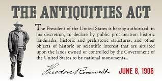 Roosevelt antiques act