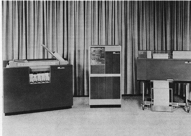 Ordenadores de segunda generacion (IBM 1401)
