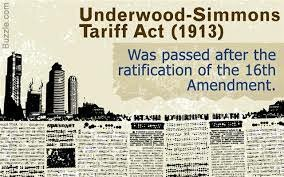 underwood simmons tariff