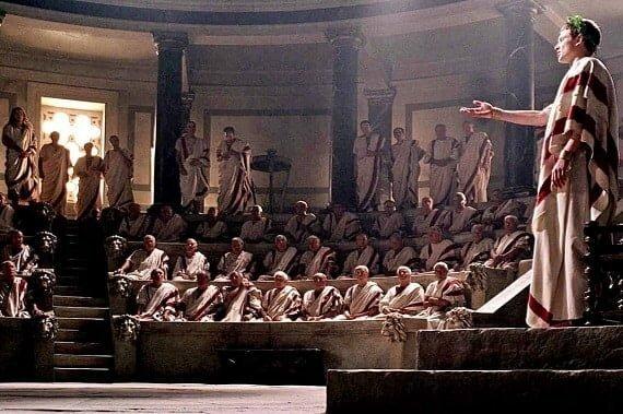Creació del senat romà