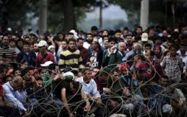 Crisi dels refugiats a Europa.