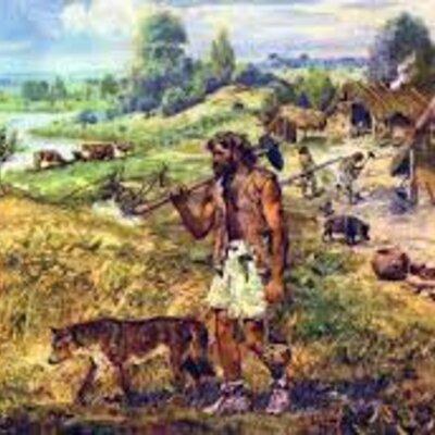 Eje Cronológico de la prehistoria hasta la edad media  timeline