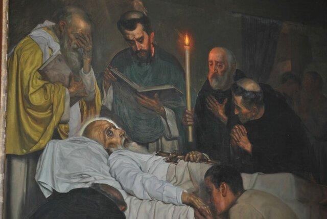 Muerte de San Agustín