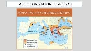 Colonizaciones Griegas