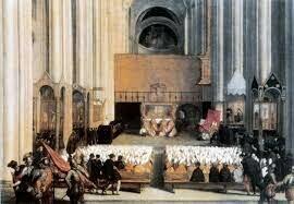 Acaba el concili de Trento.