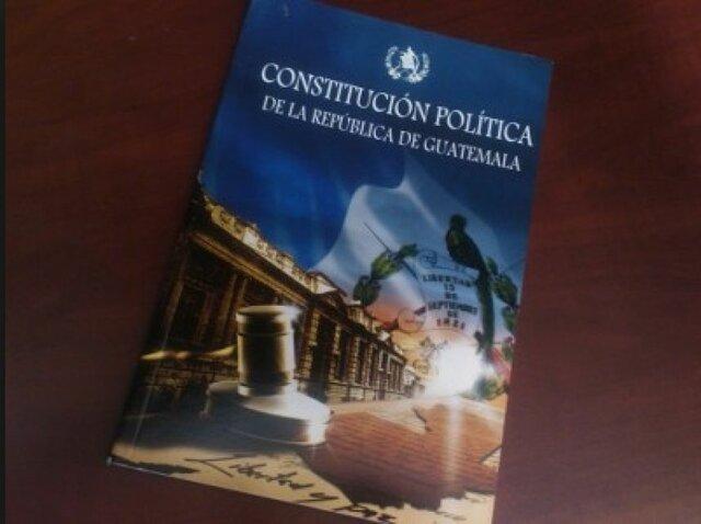 Constitución de la Republica de Guatemala