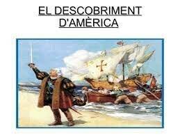 DESCOBRIMENT D'AMÈRICA