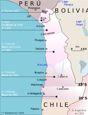 Chile y Bolivia firman un pacto de tregua