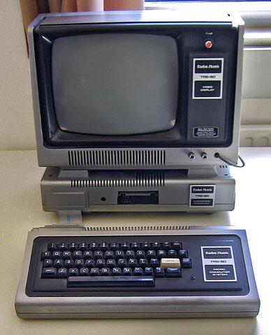 Ordenadores de Cuarta generacion (TRS-80)